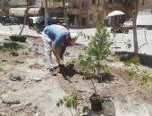 مجلس مدينة كفر الزيات يشن حملة مكبرة لنظافة وتجميل الشوارع .. صور
