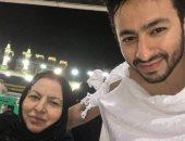 وفاة والدة الفنان حمادة هلال بعد صراع مع السرطان