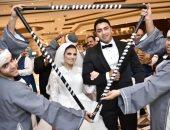 ألبوم صور حفل زفاف الشهيد مغربى دبابة بطل موقعة كمين البرث