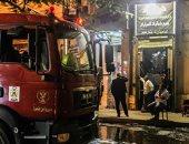 السيطرة على حريق داخل محل كاوتش بمدينة نصر دون إصابات