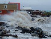 دراسة: تغير المناخ وذوبان القمم الجليدية يثير موجات شديدة فى القطب الشمالى