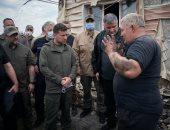 رئيس أوكرانيا: 300 ألف هريفنا تعويضا للأسر المتضررة وضحايا حريق لوجانسك