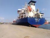 شحن 4200 طن صودا كاوية وتدوال 23 سفينة بموانئ بورسعيد