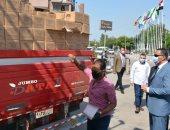 صور.. توزيع 1300 كشاف ليد على الوحدات المحلية بالدقهلية