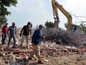 محافظ القليوبية: إزالة 15 مبنى مخالف بكفر شكر على حرم النيل.. صور