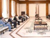 الرئيس العراقى يؤكد أهمية دعم سيادة بلاده ووقف الخروقات العسكرية التركية