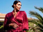 شاهد.. ياسمين صبري في أحدث ظهور لها بفستان فوشيا بعد انتهاء التدريبات