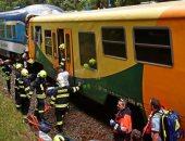 بالصور والفيديو.. وفاة 3 وإصابة 30 شخصا فى تصادم قطارين بجمهورية التشيك