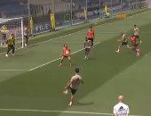 """راموس ما يفعله فى المباريات يكرره فى التدريبات.. الأهداف الرأسية تتوالى """"فيديو وصور"""""""