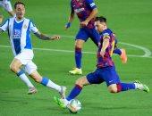 برشلونة ضد اسبانيول.. شوط أول سلبى فى ديربى كتالونيا بالدوري الإسباني