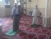 وكيل أوقاف الأقصر يقوم بجولة على المساجد لمتابعة الالتزام بالتعليمات.. صور