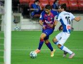 برشلونة ضد إسبانيول.. سواريز ثالث الهدافين التاريخيين بهدف أول فى الدقيقة 56