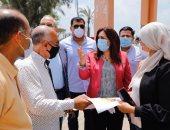 محافظة دمياط تبحث مخطط تطوير شارع الثورة بكفر سعد