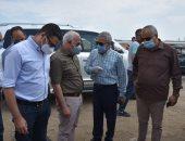 محافظ بورسعيد يتفقد مشروع الإسكان الاجتماعى .. صور