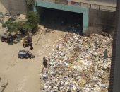 شكوى من تراكم القمامة بتقسيم الدفاع المدنى دائرة المعادى التابع لحى البساتين
