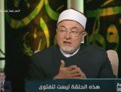 """فيديو..خالد الجندى: من لم يؤمن بالله سبحانه وتعالى ورسوله """"كافر"""""""