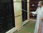 استمرار حملات تعقيم وتطهير المساجد فى المحافظات.. صور