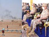 فيديو.. الجيش المصرى يحمى المصريين.. مناورة حسم 2020 تواصل فعالياتها