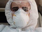 """الجيش الأبيض...""""أحمد"""" مسعف على خط مواجهة فيروس كورونا"""