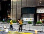 جدارية للسود تتحدى برج ترامب وسط نيويورك.. فيديو وصور