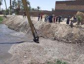 صور.. تنفيذ 10 قرارات إزالة لمخلفات ردم فى حملة حماية نهر النيل بالأقصر