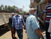 تحرير 33 محضر إشغال وإزالة 18 تنده وتشميع محلات بدون ترخيص فى حملة بطنطا