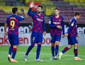 برشلونة يقهر إسبانيول فى ديربى كتالونيا بالدوري الإسباني