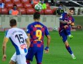 ملخص وأهداف مباراة برشلونة ضد إسبانيول فى الدوري الإسباني