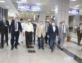 وزيرى السياحة والطيران ومحافظ جنوب سيناء يتفقدون فنادق ومتحف ومطار شرم الشيخ