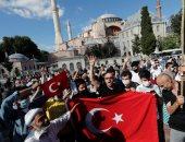 أردوغان يحشد أنصاره بمحيط متحف وكنيسة آيا صوفيا للاحتفال بتحويلها إلى مسجد