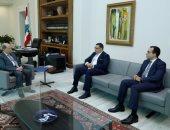 ميشال عون يتسلم رسالة من الرئيس السيسى بشأن العلاقات الثنائية بين البلدين