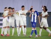 ريال مدريد يحقق رقما قياسيا مع زيدان بعد ثنائية ألافيس.. فيديو