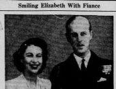 خبر خطوبة الأميرة إليزابيث على الأمير فيليب قبل 73 عاما.. شاهده
