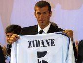 زين الدين زيدان يحتفل بمرور 19 عاما على انضمامه لصفوف ريال مدريد