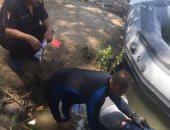 الإنقاذ النهرى ينتشل جثة شاب من نهر النيل فى القناطر الخيرية