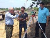 رئيس مدينة الحسينية يتفقد أعمال إنشاء محطة مياه البكارشة .. صور