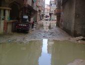 تراكم مياه الصرف الصحى فى عزبة العقارى خورشيد بالإسكندرية منذ أكثر من شهرين