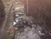 منزل مهجور تتراكم فيه مياه المجارى.. شكوى من شارع الجزائر بالزاوية الحمراء