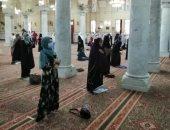 افتتاح مصلى السيدات بمسجد السيدة زينب تحت إشراف واعظات الأوقاف.. صور