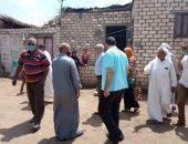 لجنة لمعاينة 60 منزلا لمتضررى السيول بالحسينية فى الشرقية لإعادة إحلالها..  صور
