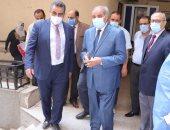 رئيس جامعة الأزهر يتفقد أعمال تطوير بمستشفى سيد جلال والحسين الجامعى