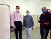 نقل العيادات الخارجية بمستشفي الزقازيق العام لمجمع الخدمات بالشوبك