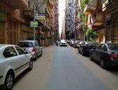 قارئ يطالب بوضع مطبات صناعية فى شارع مصعب بن عمير بمدينة المنصورة