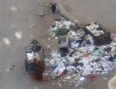قارئة تشكو تواجد صناديق القمامة فى شارع الخلفاء الراشدين بالمنصورة