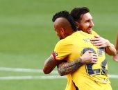 برشلونة يتفوق على بلد الوليد بهدف فى الشوط الأول بالليجا.. فيديو