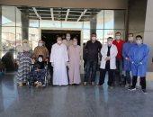 مستشفى العزل فى بلطيم تعلن ارتفاع حالات الشفاء من كورونا لـ505
