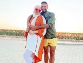إسلام محارب يحتفل بعيد ميلاد زوجته: كل سنة وأنتى طيبة ياروحى.. صور