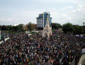 مالى .. محتجون يقتحمون مبنى التلفزيون ويقطعون البث للمطالبة باستقالة رئيس الدولة