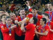 دافيد فيا يحتفل بتتويج إسبانيا بمونديال 2010.. ويؤكد: 10 سنوات من الفرحة