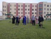 صحة بنى سويف: تعافى 19 مصابا بكورونا وخروجهم من عزل المدينة الجامعية